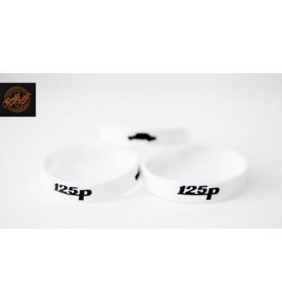 Opaska silikonowa 125p- biała