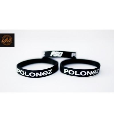 Opaska silikonowa Polonez czarna