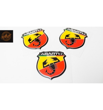 Abarth logo 65mm