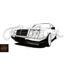 Mercedes W124 150 cm