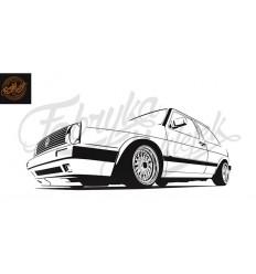 VW Golf Mk.2 150 cm