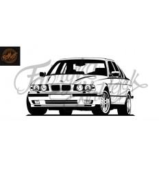 BMW E34 150 cm
