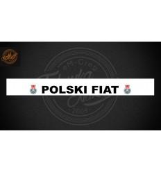 Pas Polski Fiat 126p biały