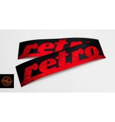 Retro - czerwona