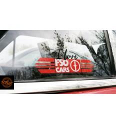 I love FSO CARS wewnętrzna