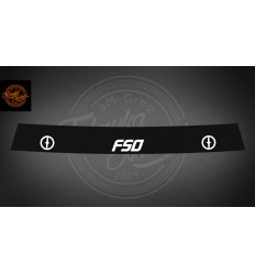 Pas FSO czarny