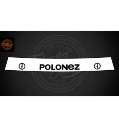 Pas Polonez biały