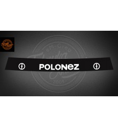 Pas Polonez czarny
