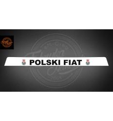 Pas Polski Fiat 125p biały