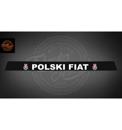 Pas Polski Fiat 125p czarny