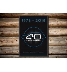 Plakat Polonez - 40 lat