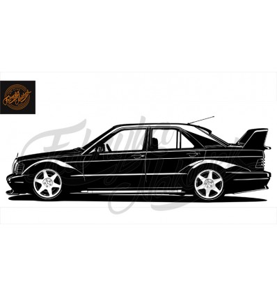 Mercedes 190E Evolution 2 150 cm
