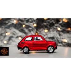Bombka Fiat 126p Czerwona