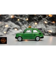 Bombka Fiat 126p Zielona