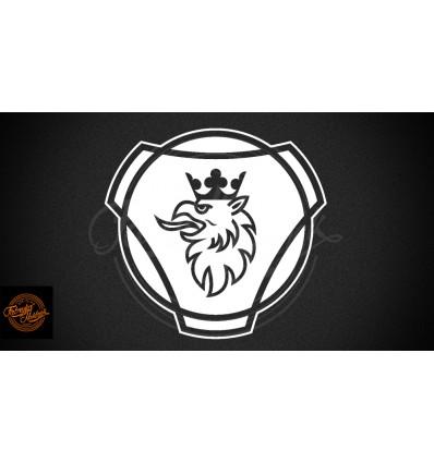 SCANIA logo v.1 20 cm