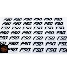 FSO logo 15 x 30mm