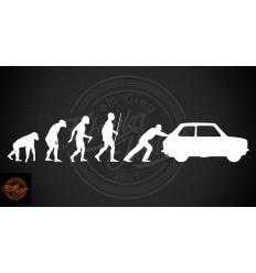 Naklejka 126p ewolucja