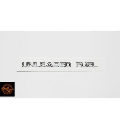 Unleaded Fuel