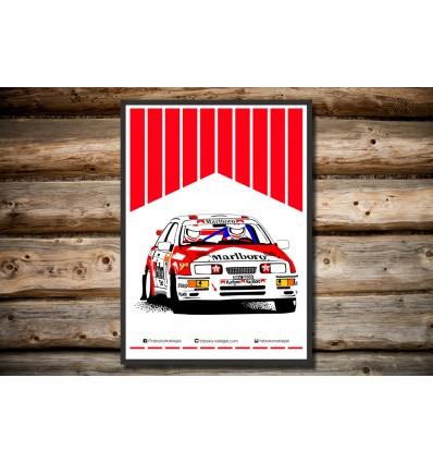 Plakat Ford Sierra