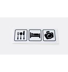 Eat Sleep Photo BIAŁA