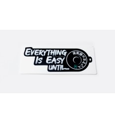 Everything is easy until...