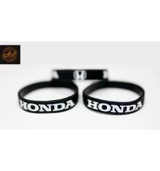 Opaska silikonowa HONDA - czarna