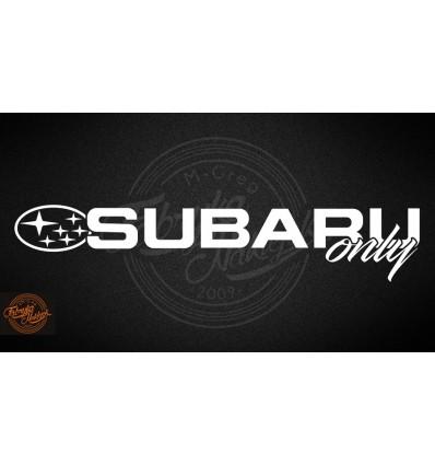 Subaru only 45cm