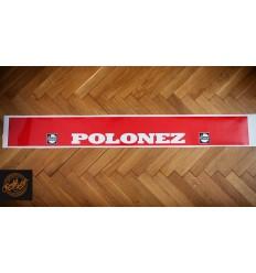 Pas Polonez Castrol Czerwony